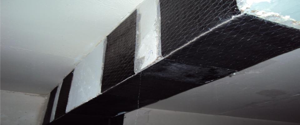 Reforço Estrutural com Fibra de Carbono em Obras Residenciais