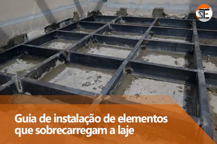 Mini guia sobre instalação de banheiras e outros elementos que sobrecarregam a laje